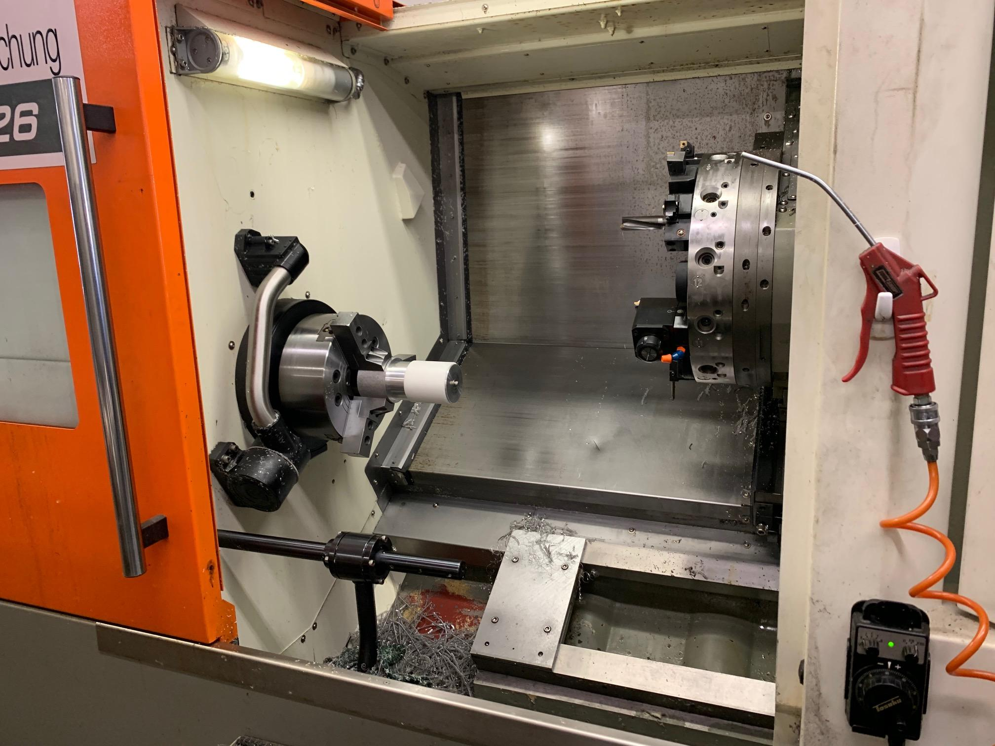 2012 Victor Vturn A26/85 CNC Turning Center (#3827)