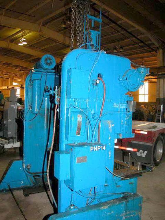 USED 60 TON ROUSSELLE O.B.I. PRESS, Model 6B-76, Stock No. 8392
