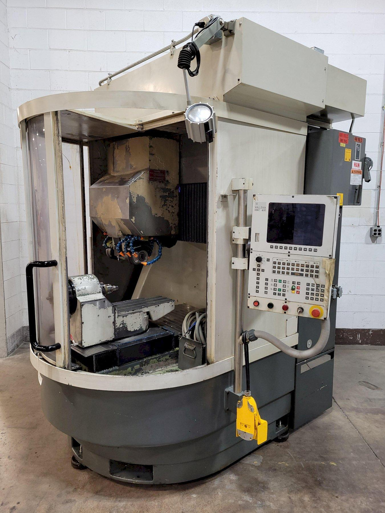 Walter Helitronic Power 400 5-Axis Universal CNC Tool & Cutter Grinder