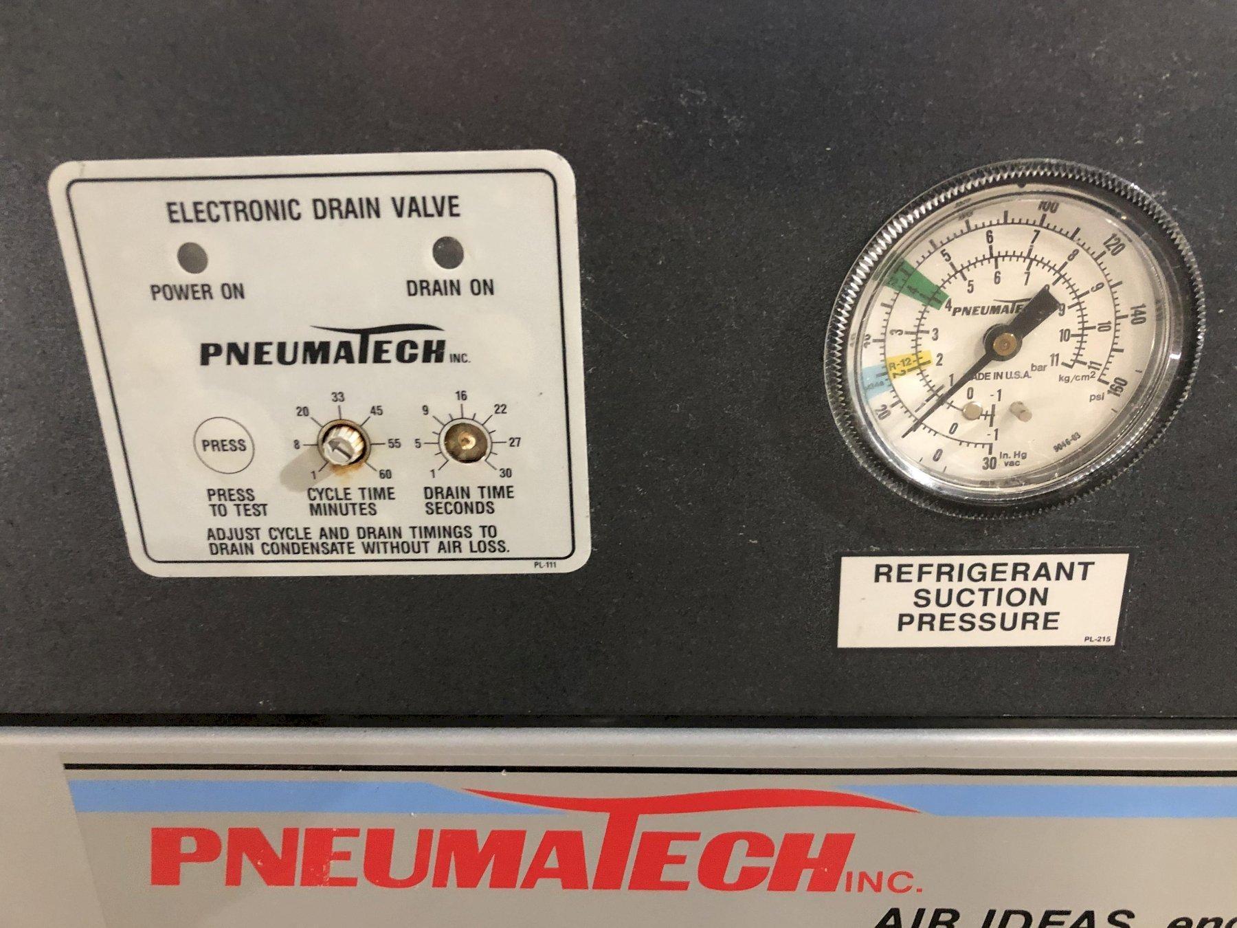 100 SCFM PNEUMATECH MODEL AD-100 AIR DRYER: STOCK #13773