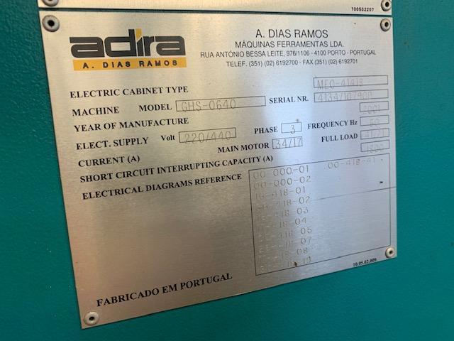 """1/4"""" x 13 ft Adira Hydraulic Shear Model GHS-0640 #5731"""
