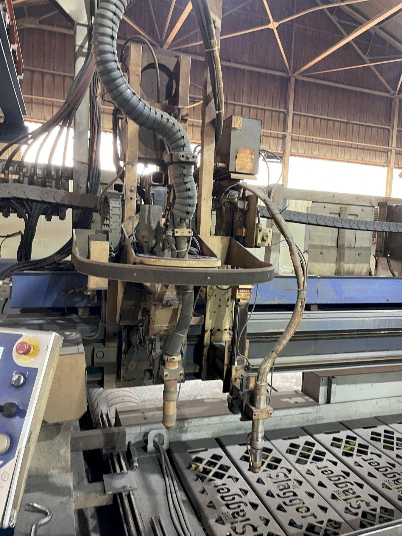 """2007 MESSER MPC2012 CNC Precision Plasma/Oxygen Cutting System With 141"""" x 608"""" Table"""