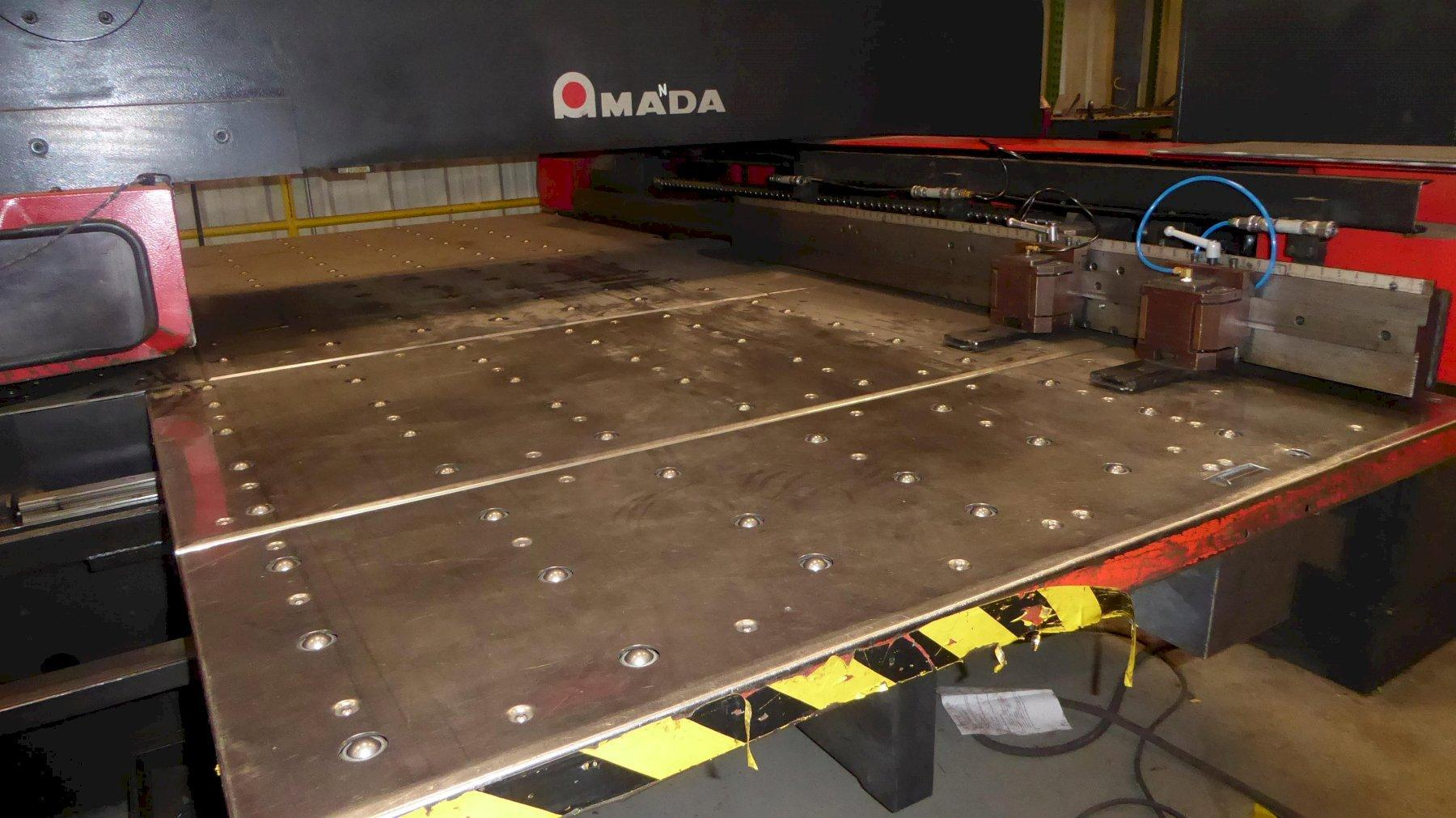 Used Amada Vipros 357 Queen Turret Punch