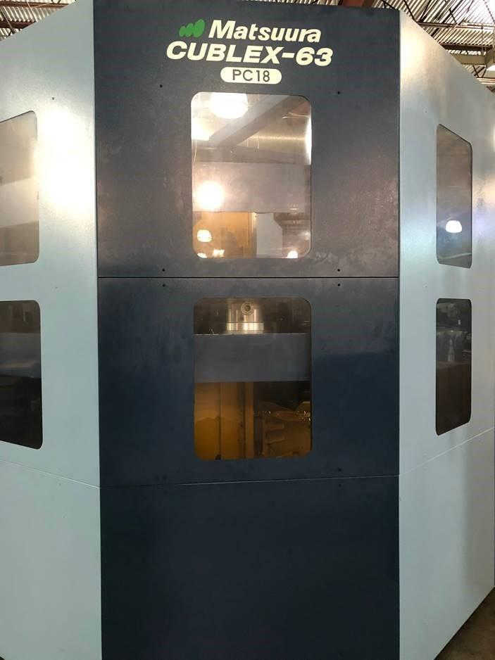 2017 Matsuura Cublex-63 5-Axis Multi-Tasking Machining Center