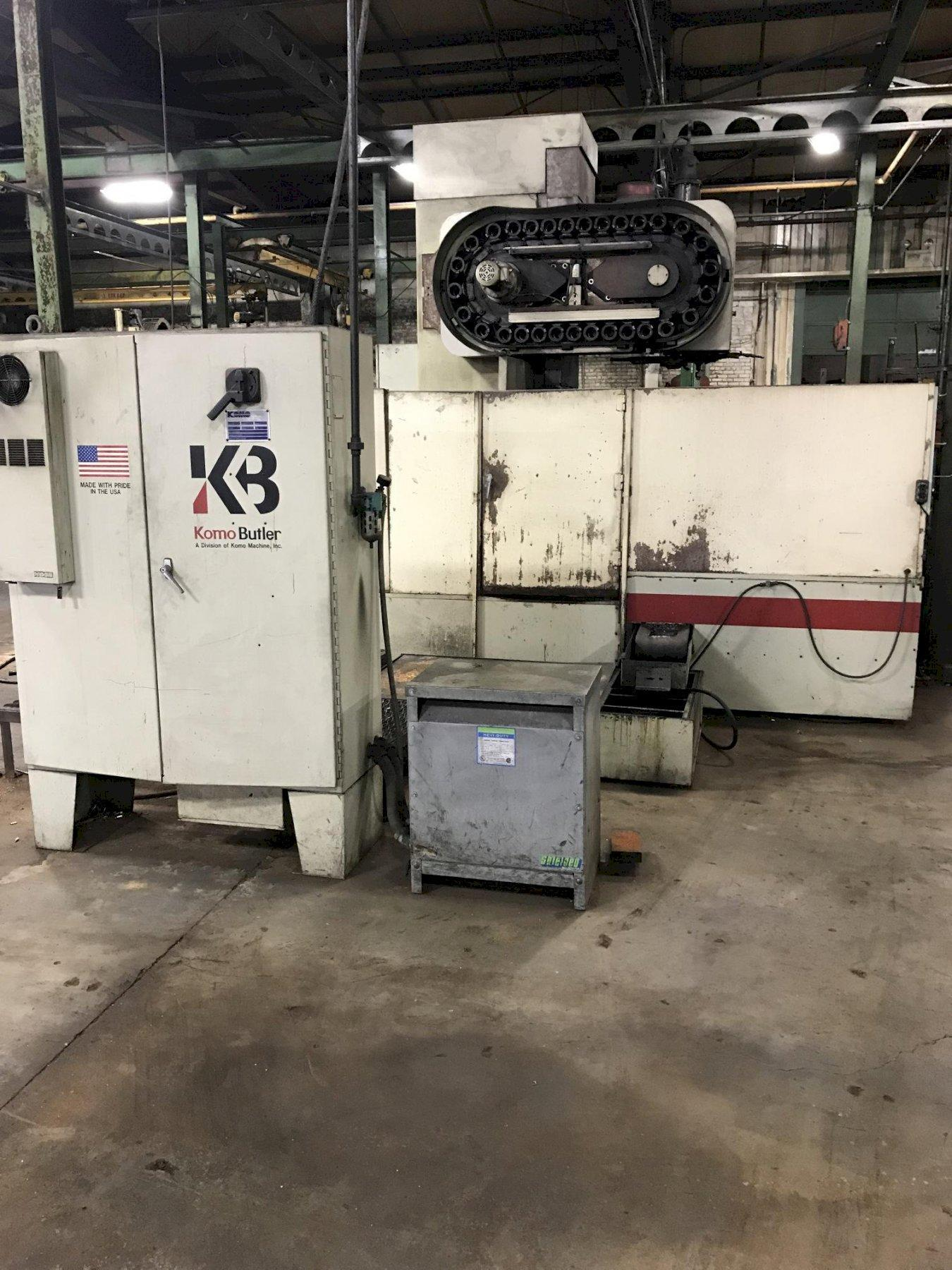 KOMO MOODEL V50 CNC VERTICAL MACHINING CENTER