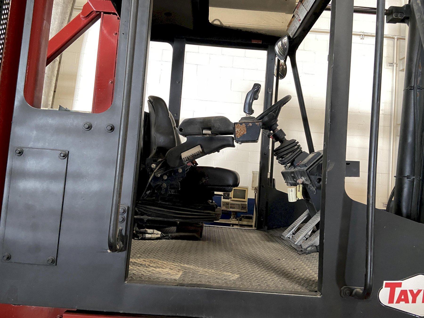 "Taylor TX-360L (Big Red) 36,000 LB Forklift, 135"" Lift Height, 15/12 Lift Angle, Cummins Diesel"