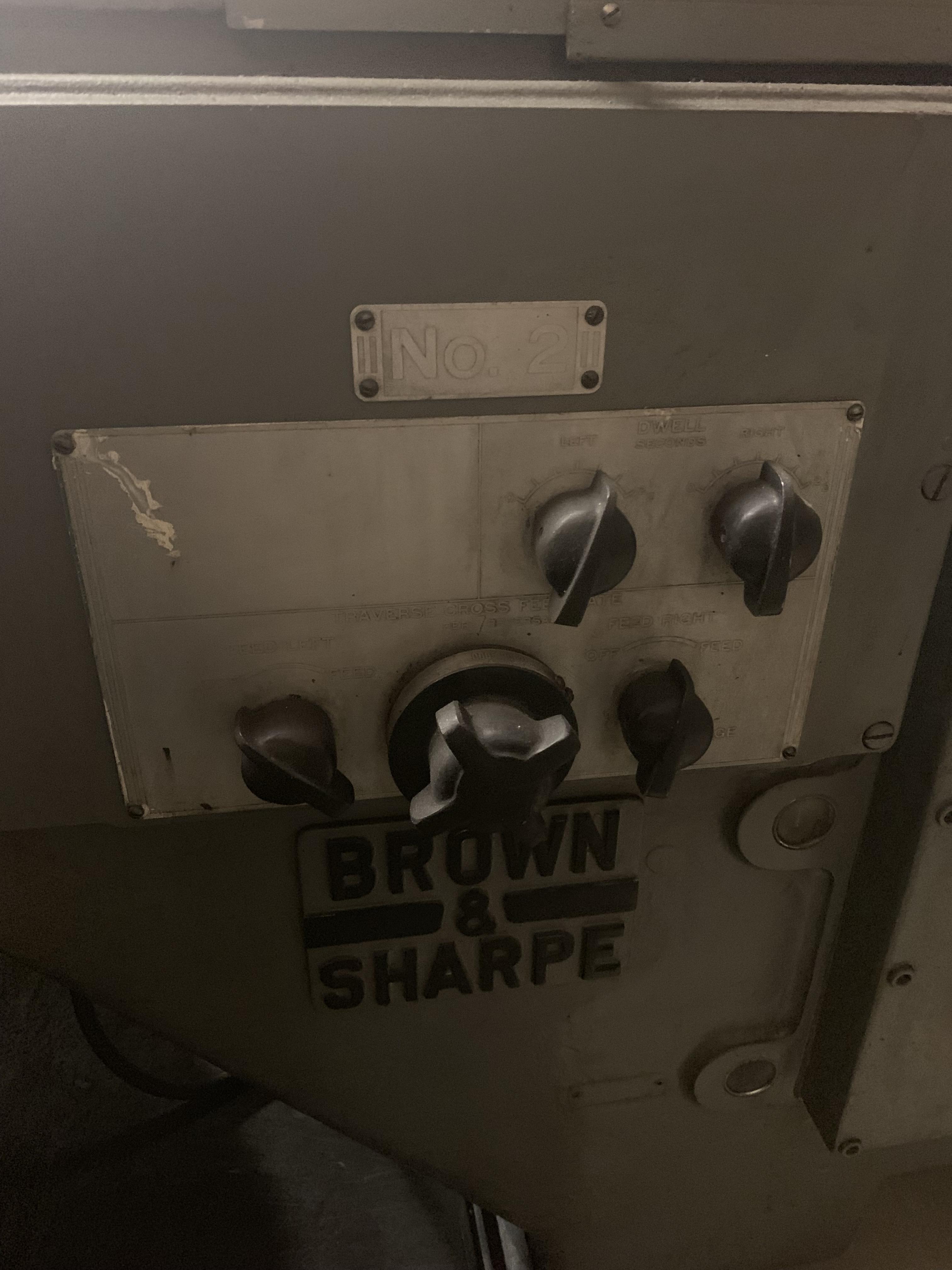 "#2 BROWN & SHARPE 14"" CYLINDRICAL GRINDER: STOCK 10515"