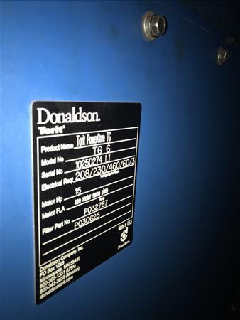 DONALDSON TORIT POWERCORE TG6 DUST COLLECTOR