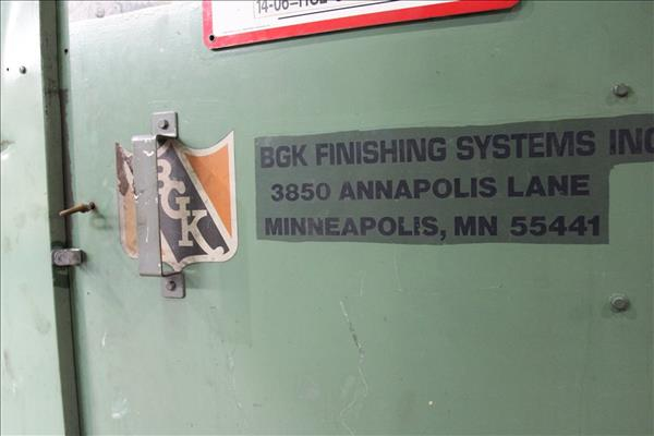 BGK FINISHING SYSTEMS NR6027 ELECTRIC INFRA-RED OVEN