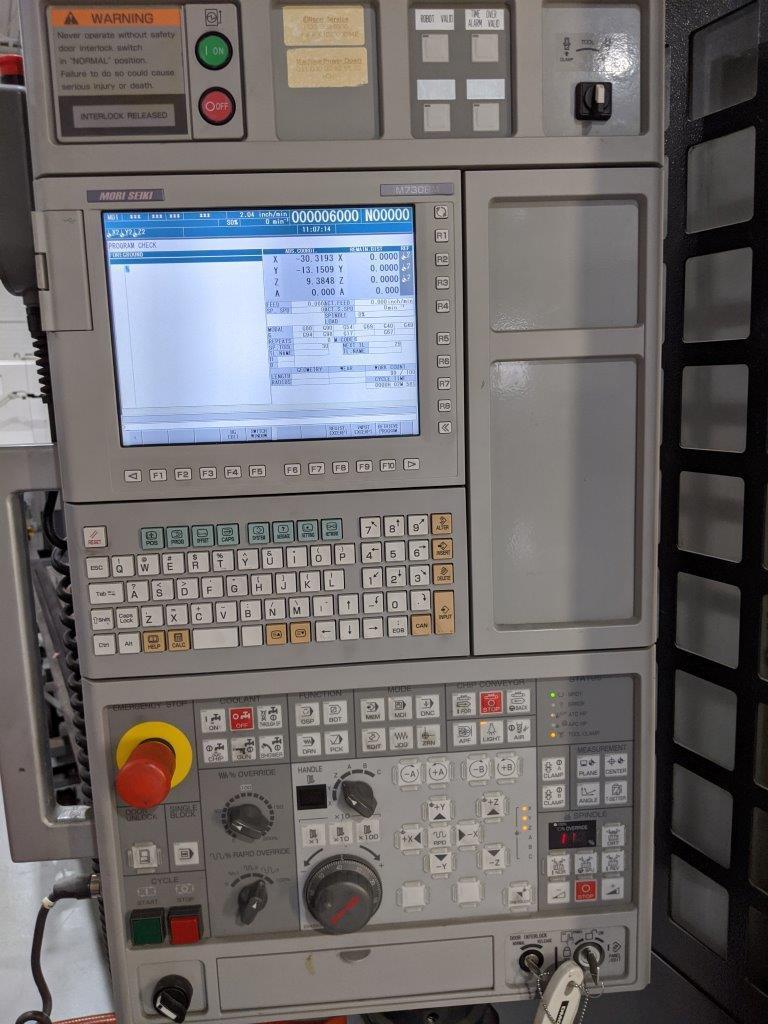 DMG Mori Dura Vertical 1035 eco CNC Vertical Machining Center
