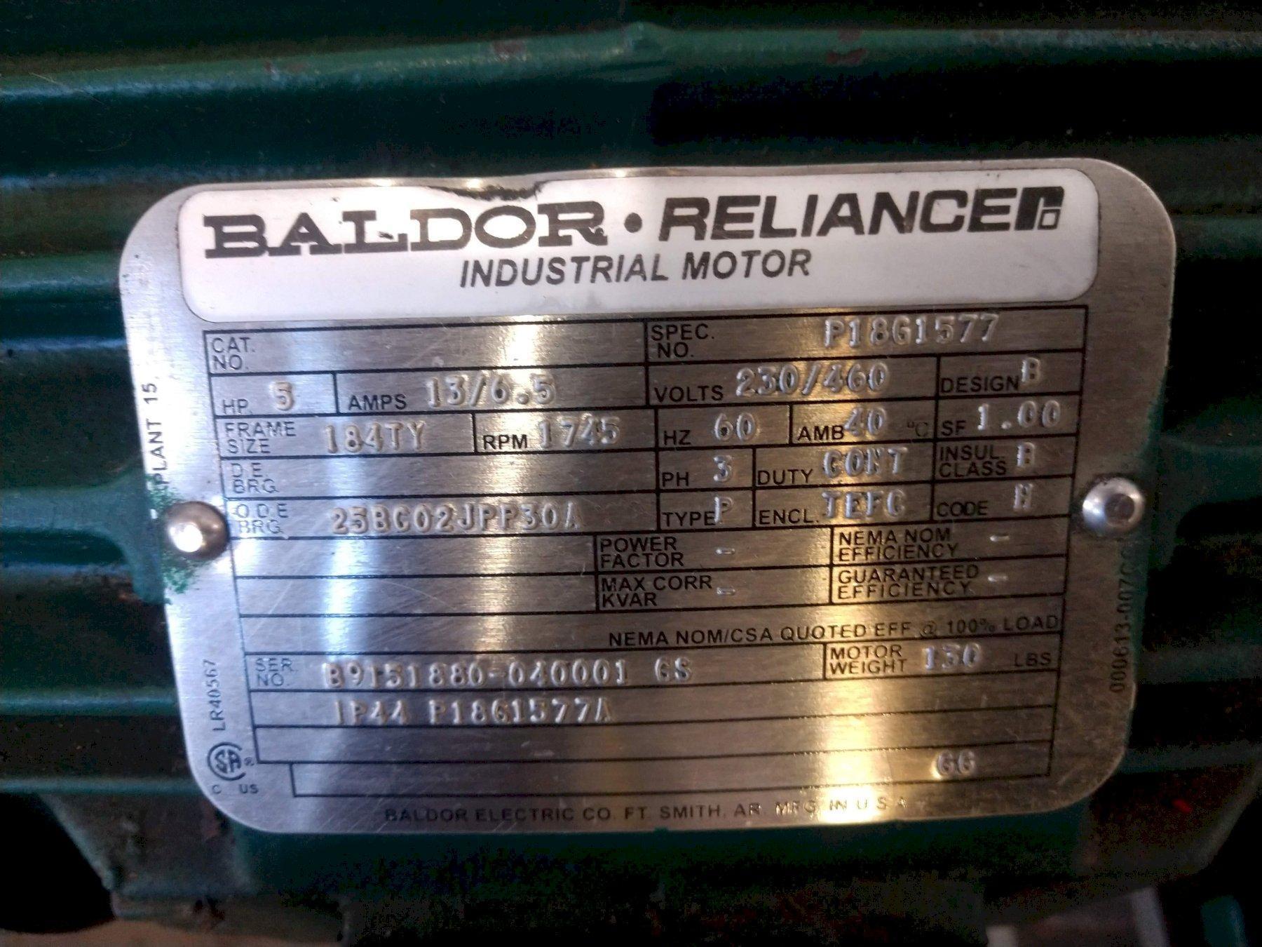 5 HP ROYALTON ELECTRICH WINCH UNIT : STOCK #13822