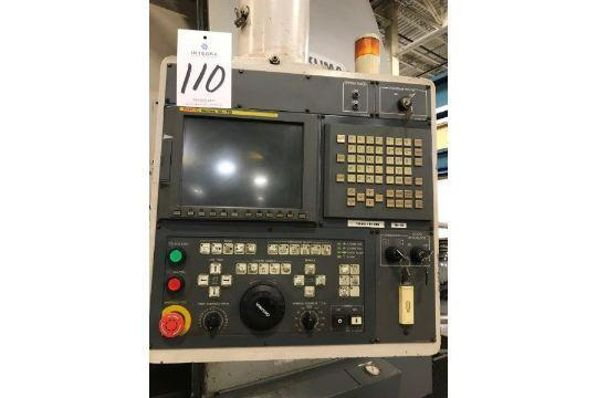 "Okuma V80R CNC Vertical Lathe, Fanuc 18iTB, 25"" Chuck, 39"" Swing, 40 HP, 12 ATC, 1760 Lb Capacit"