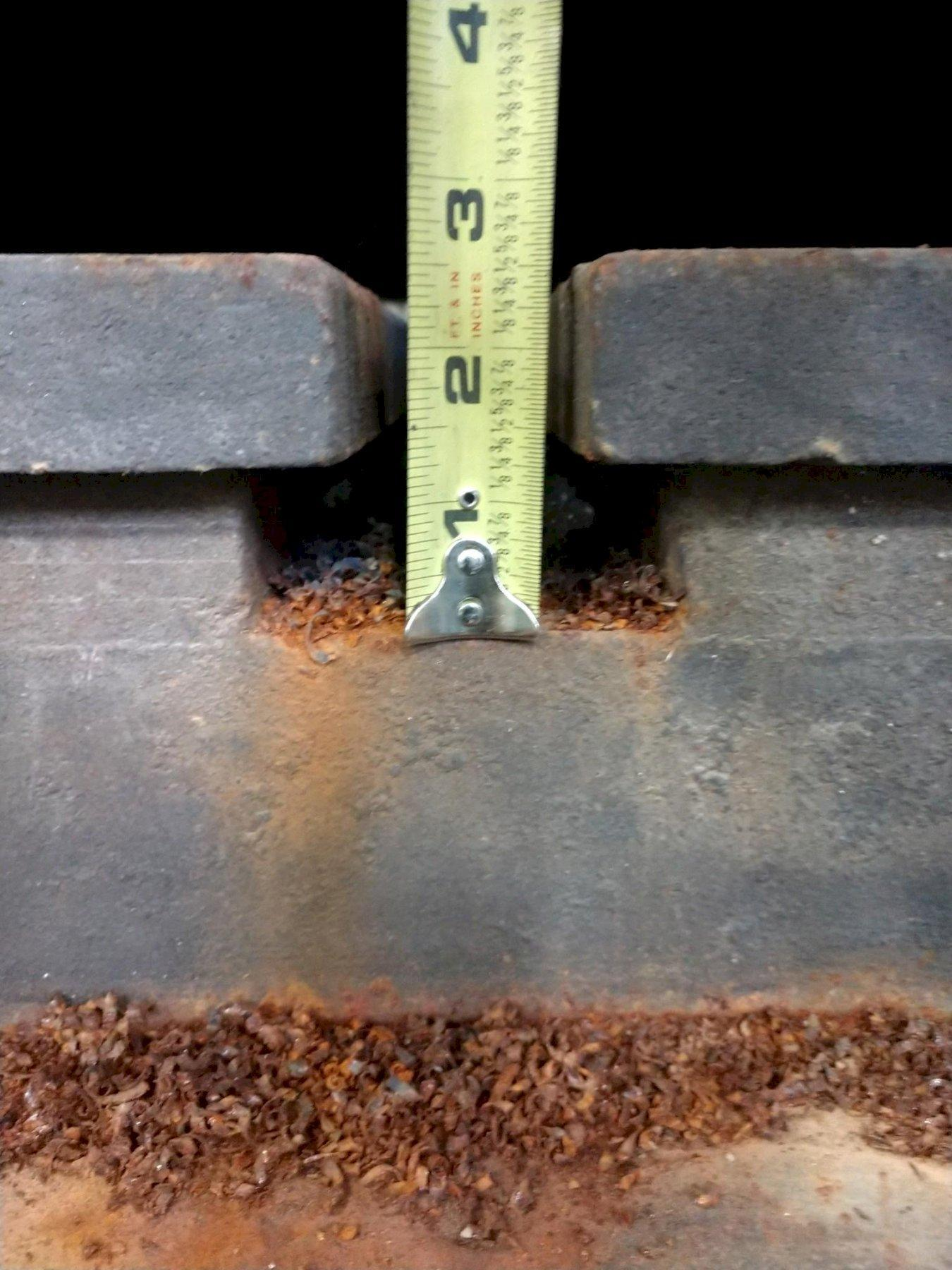 """72"""" X 72"""" X 9"""" T-SLOTTED LAYOUT FLOOR PLATE: STOCK #11217"""