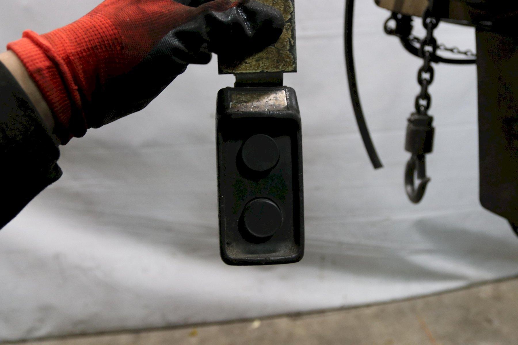 1/2 TON YALE ELECTRIC POWER CHAIN HOIST: STOCK #11966