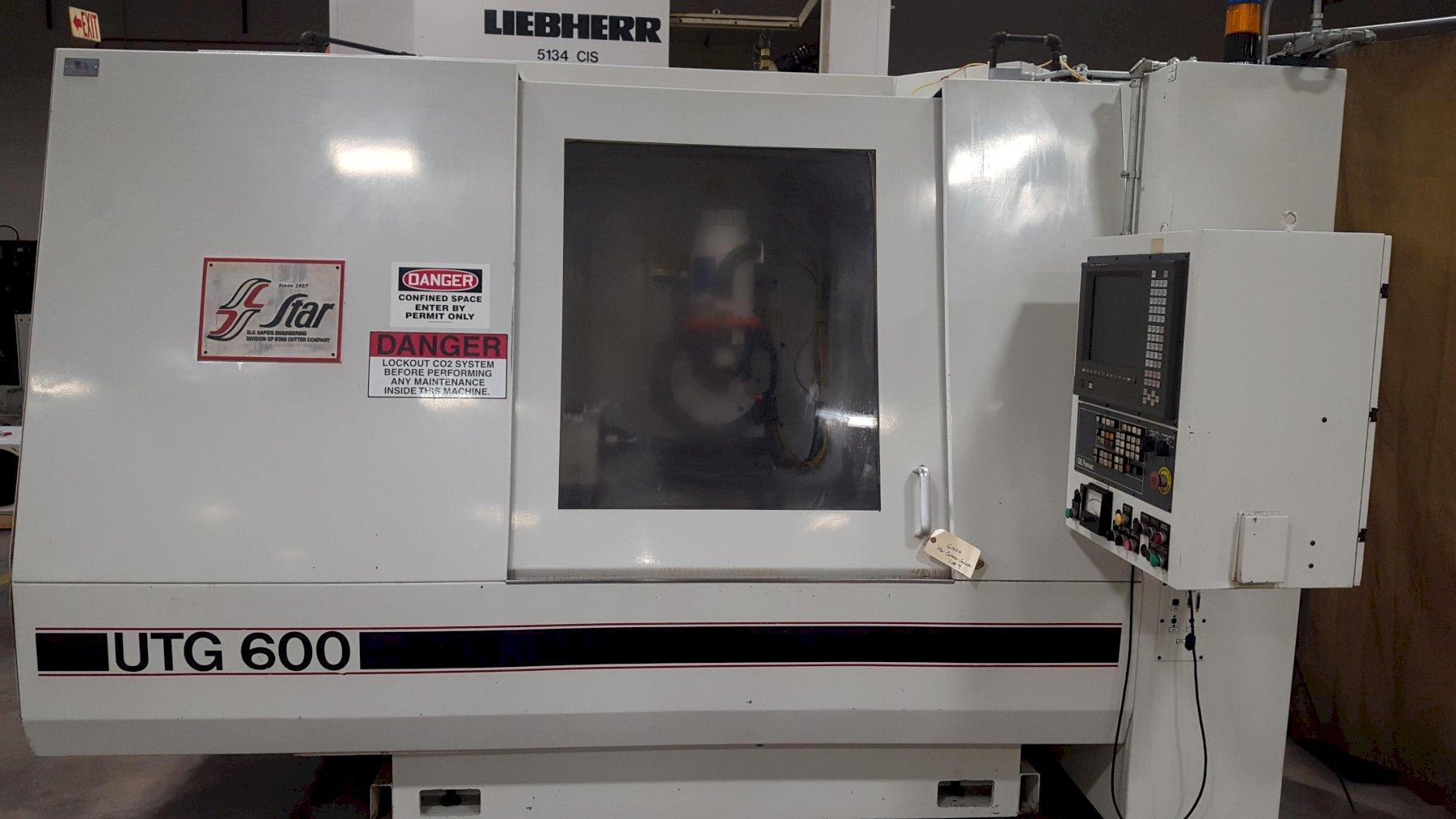 Star Cutter Model UTG600 5-Axis CNC Universal Tool Cutter and Hob Grinder