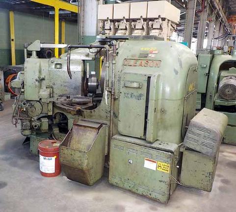"No. 22 Gleason, 22"" Dia, 2"" Hole, 10 HP, 1800 RPM Motor, (1) 1-Rougher, 1-Finisher"