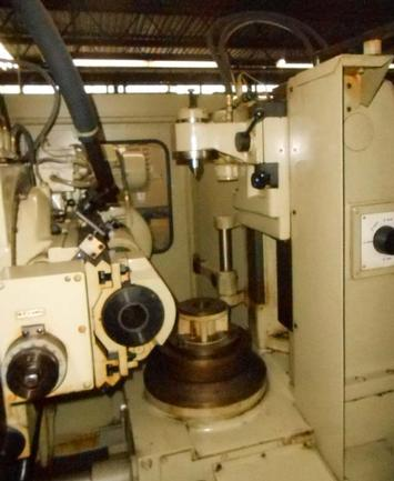 """No. ZFWZ 250/3 WMW, 10"""" Work Dia., 45° Angle, Tailstock, Well Tooled, 1979"""