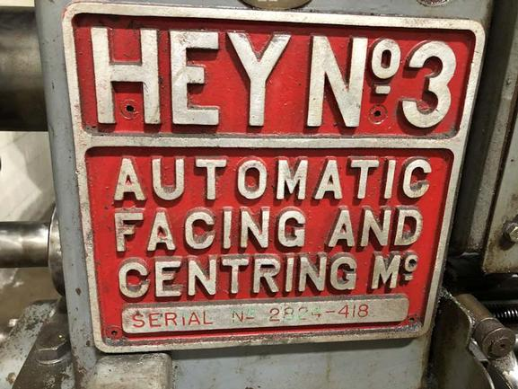 """6"""" X 27"""" Hey No. 3, Double End, 5 HP Heads, Air Operated Vises, MC Coolant, Well Tooled, '68"""