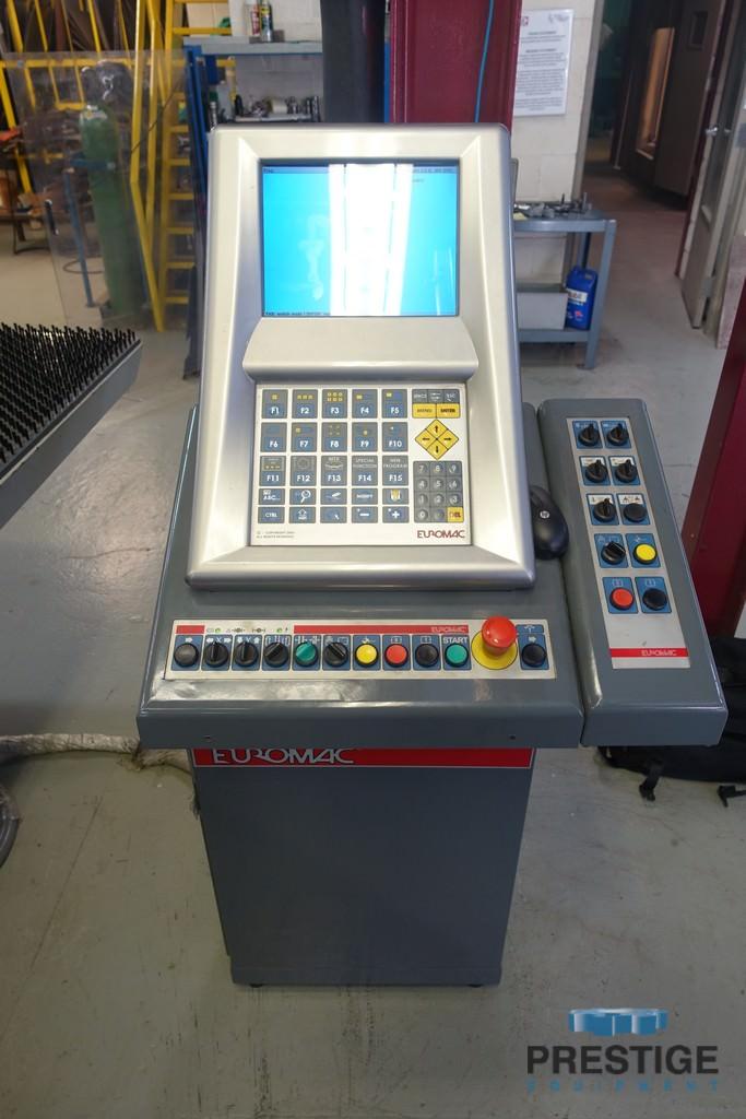 "33 Ton Euromac MTX Flex 6 Index 1250/30-2250, 51"" x 88.6"", 23 Stations, 3 AI, Load/Unload, 2010 #30991"