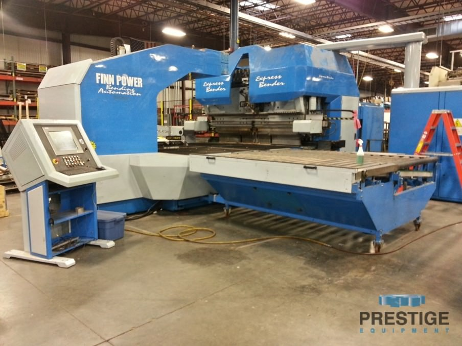 "Prima Finn-Power EB5 Express Bender, 100"" Max. Bend Length, 7.88"" Bend Height, Load/Unload, 2002, #31162"