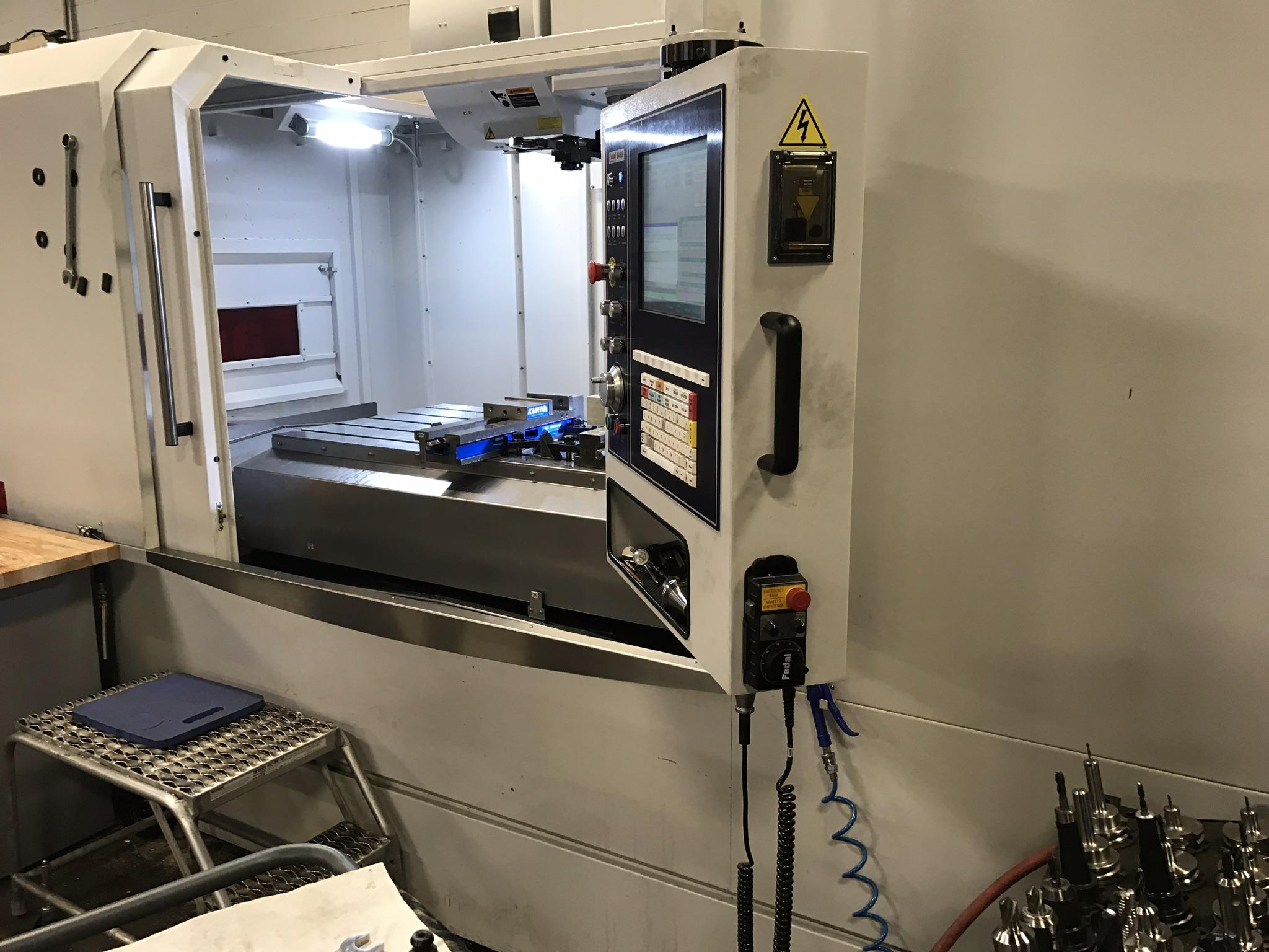 "Fadal 6030B-II CNC Vertical Machining Center, 64MP Control, 60""/32""/30"" Travels, 10K Spindle, 24"