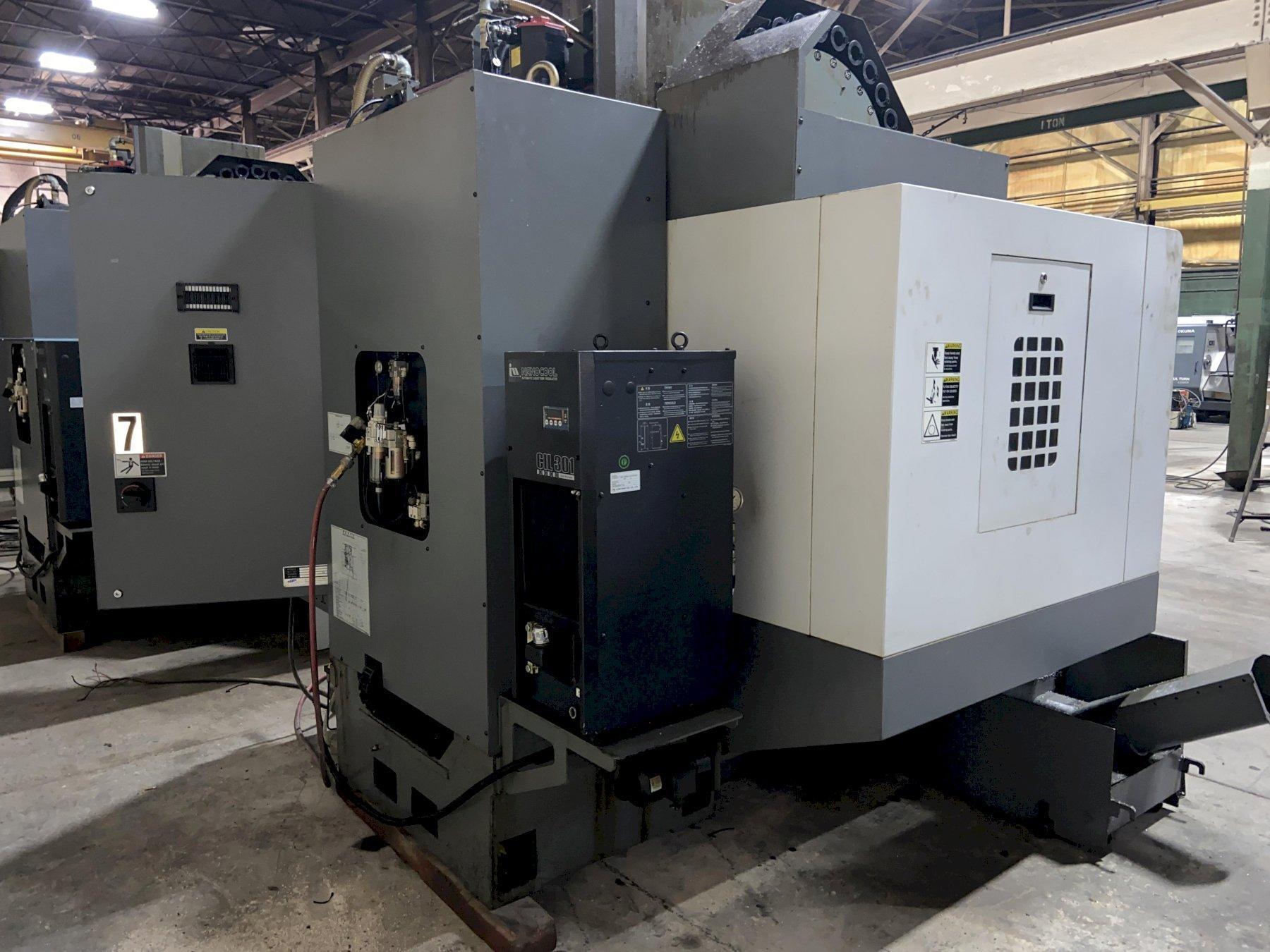 "Samsung MCV-50 CNC Vertical Machining Center, Fanuc Oi, 41""/21""/21"" Travels, 10K Spindle, CT40,"