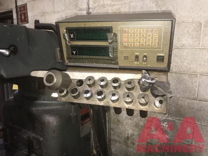 MSC 3Hp Vertical Milling Machine