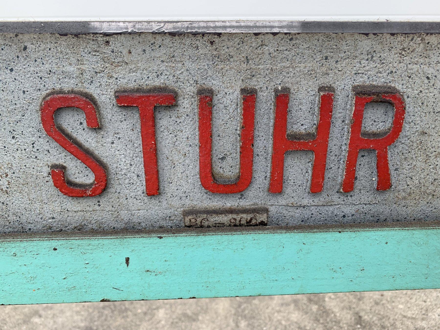 "32"" X 32"" STUHR BENCH CENTERS: STOCK #11004"