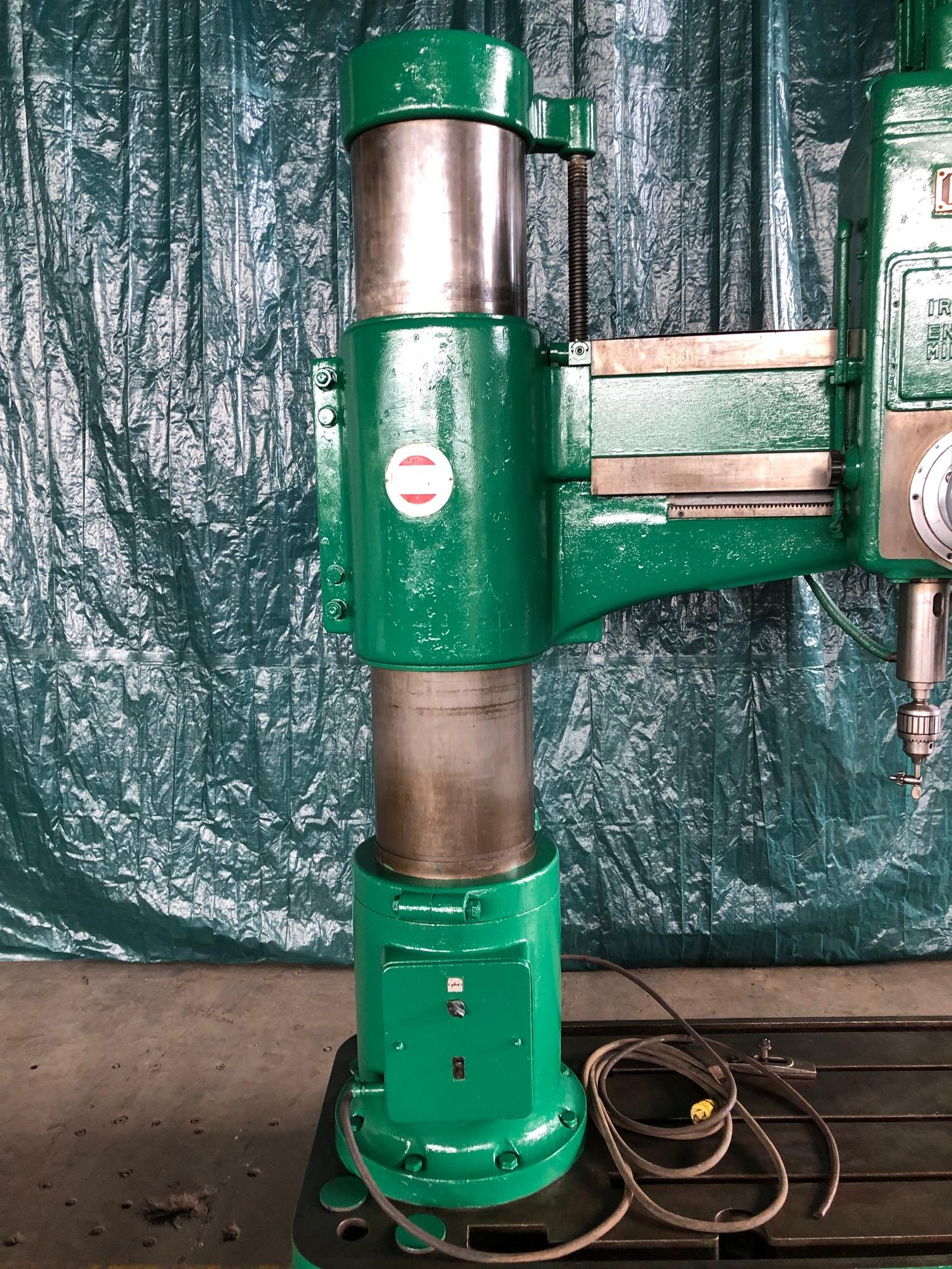 "5' x 15"" IKEDA MODEL #RM1900 RADIAL ARM DRILL: STOCK #10586"