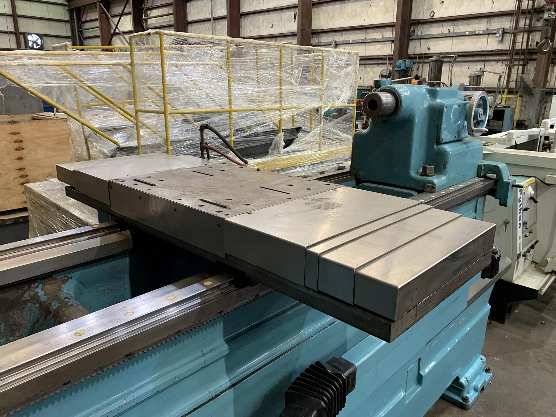 "REBUILT AND RETROFIT, 40""/140"" x 72""/120"" AXELSON MODEL 40/25 CNC SLIDING GAP BED LATHE"