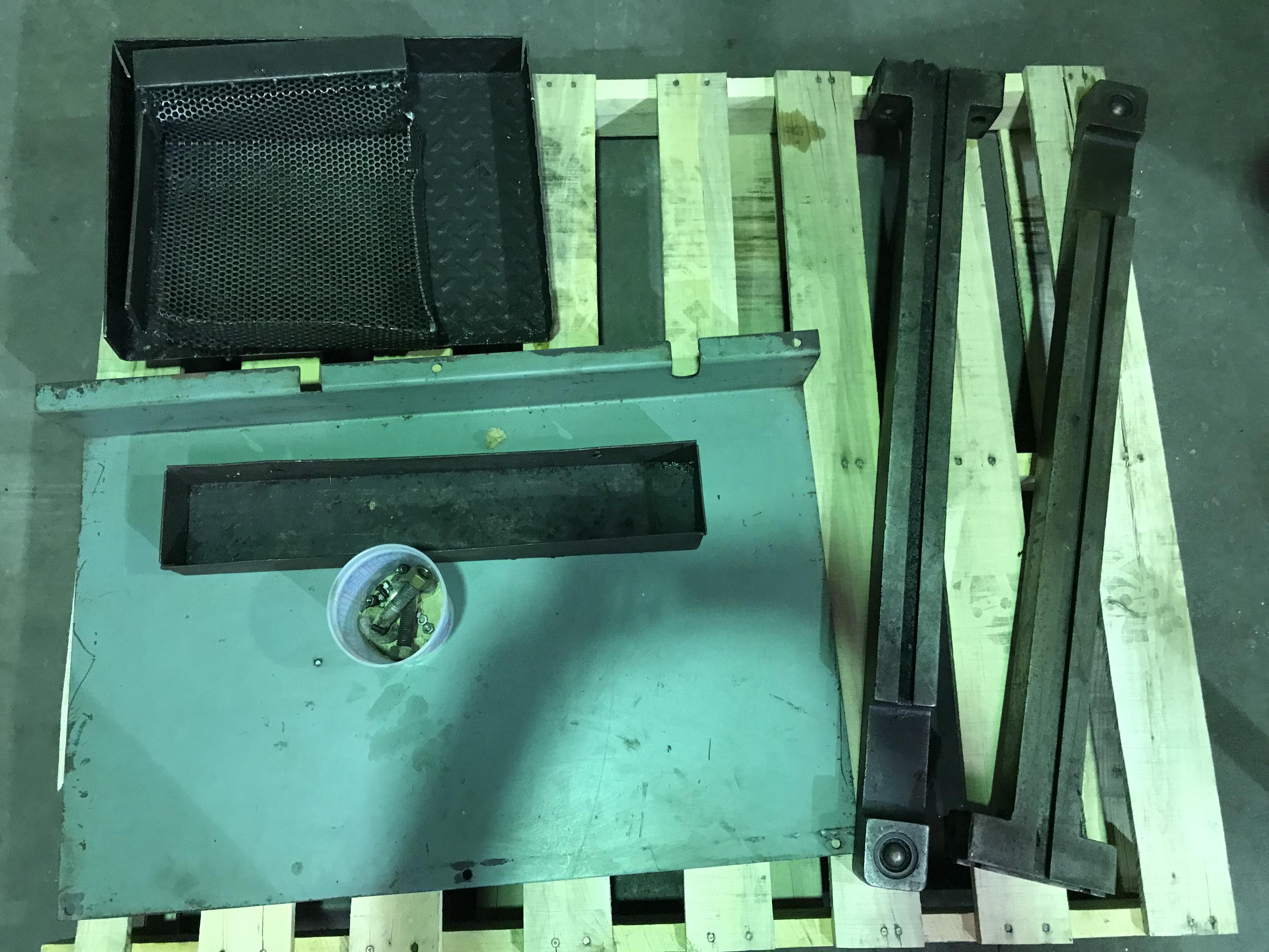 """USED ALLSTEEL HYDRAULIC SHEAR, Model 1/4""""x10', 1/4"""" x 10', Stock No. 9559"""
