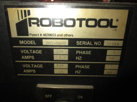 ROBOTOOL MIGHTY COMET CNC MODEL #001-600 VERTICAL MILL: STOCK 13463