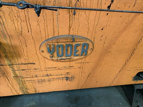YODER CO-3397-1 13 STAND ROLLFORMER W/ COIL LINE, INCLUDING REEL, STRAIGHTENER / FEEDER, CUTOFF