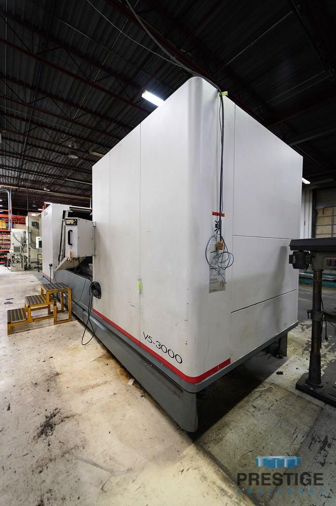 """Cincinnati V5-3000 5-Axis, X-120"""", Y-330"""", Z-35"""", 15K RPM, Swivel Head, Chip Conveyor, Acramatic 2100 CNC, 2000, #31174"""