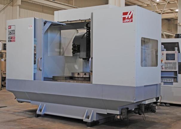 "Haas EC-1600 4X, Full 4th Ax, 36""X64""Pllt, X64"",Y40"",Z32"", 30HP, CAT50 Tpr, 30-Sta TC, 2005"