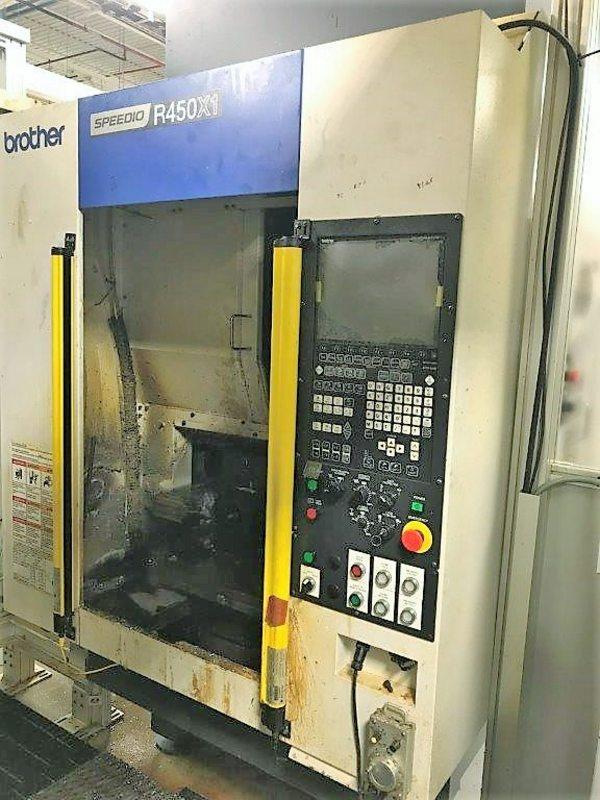 Brother Speedio R450X1 CNC Vertical Machining Center, S/N 112334 (New 2015)
