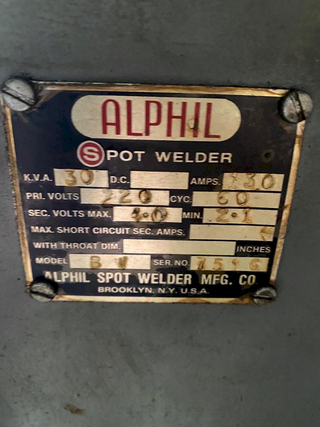 Alphil Buttwelder Model BW