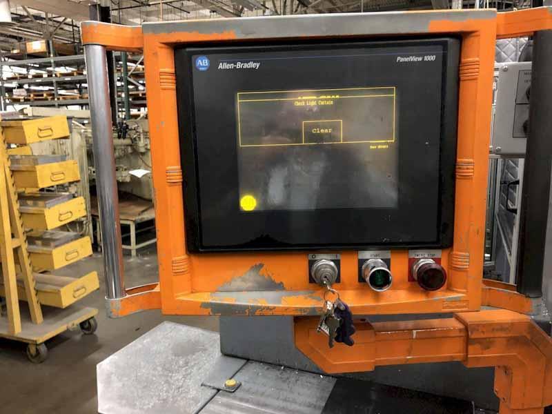Metlsaw Model CS-4 Fully Automatic Programmable Non Ferrous Saw