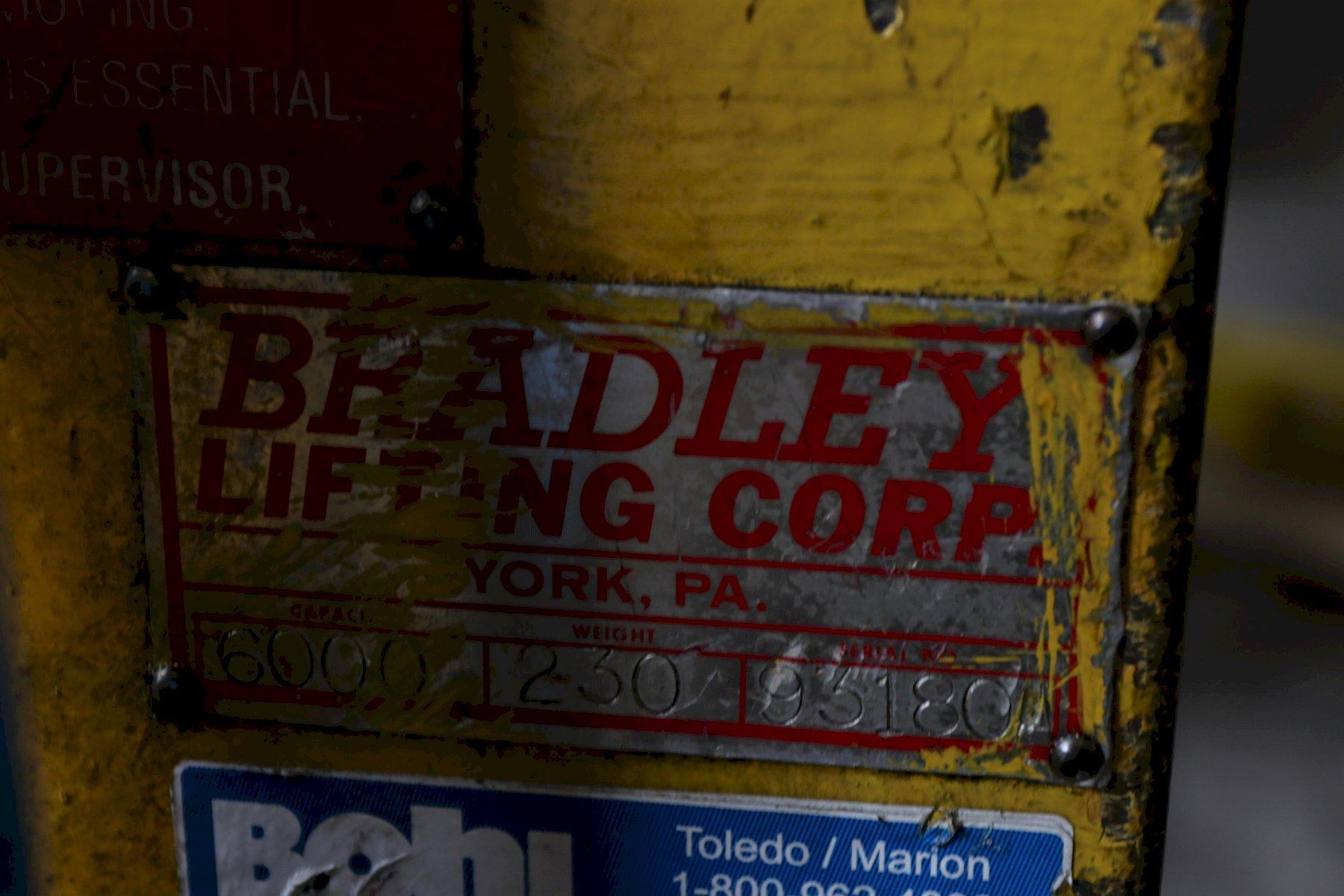 "6,000 LB X 16"" BRADLEY COIL LIFT C HOOK: STOCK 12772"