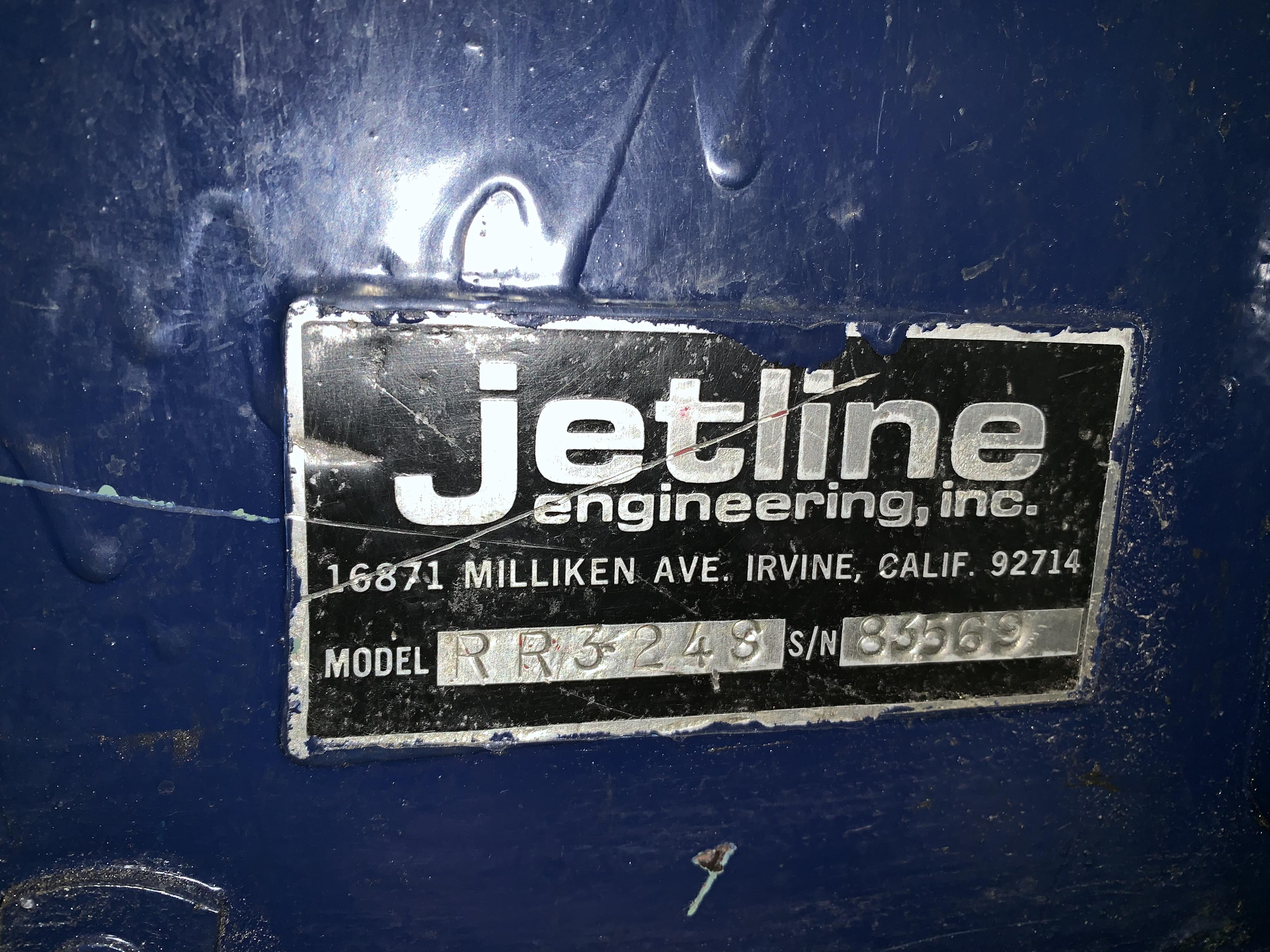 """32"""" JETLINE MODEL RR3248 WELD FLATTENER / PLANISHER: STOCK 11042"""
