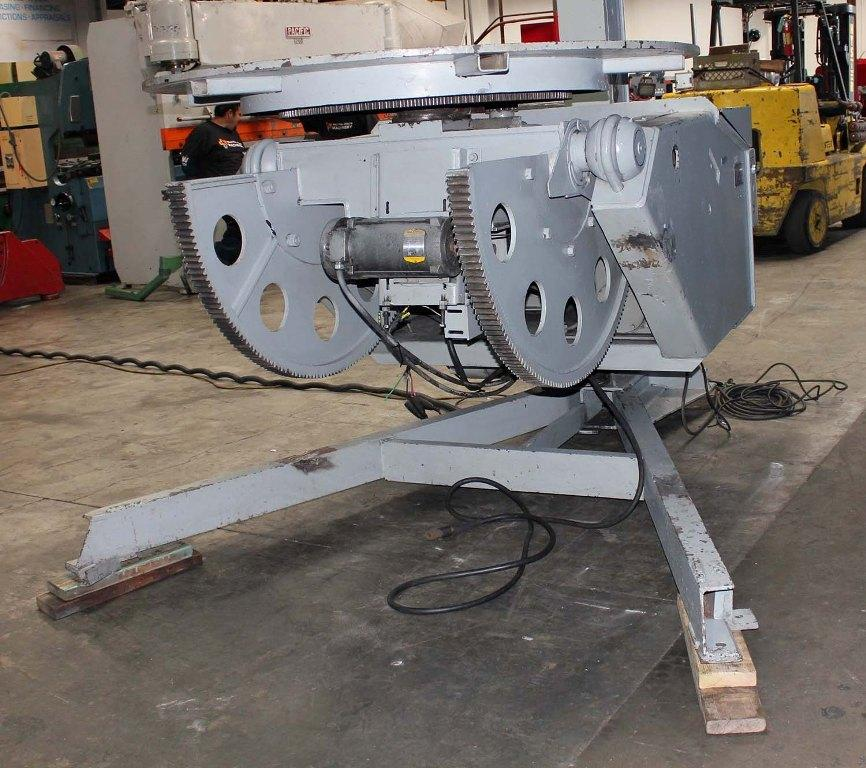 7500 LBS WORTHINGTON MODEL #75 WELDING POSITIONER: STOCK #10916