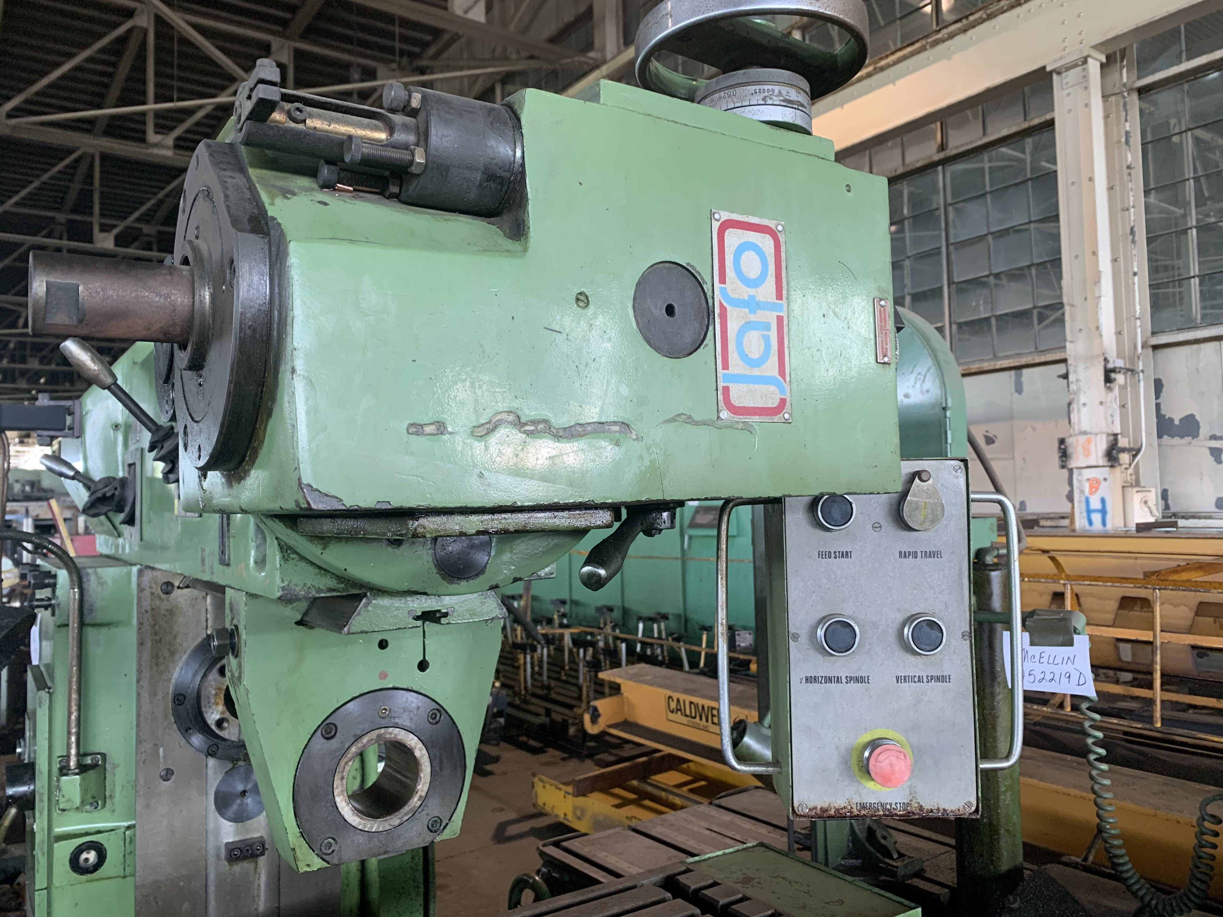 TOOLMEX HORIZONTAL / VERTICAL #BWD321 UNIVERSAL MILL: STOCK #10868