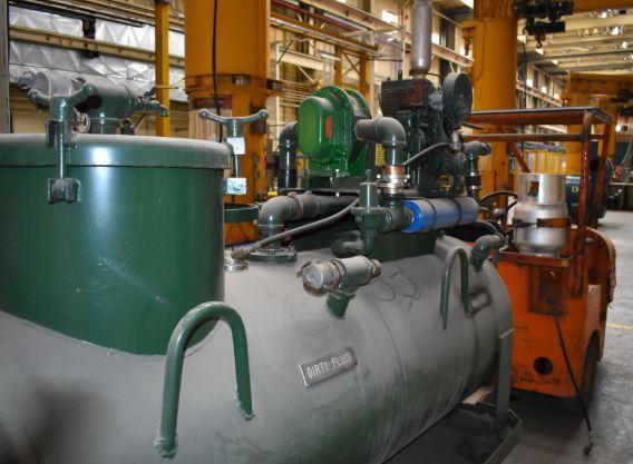 3000 LB CLARK MODEL CKF-26 PROPANE GAS TUGGER: STOCK #11385