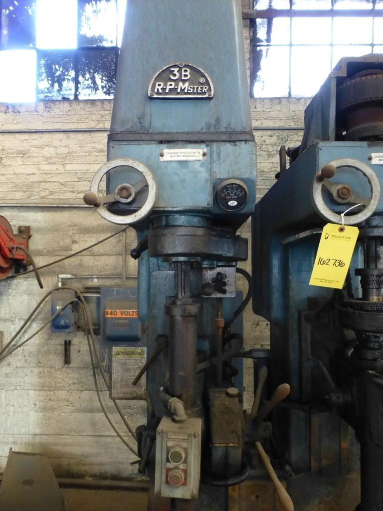 BUFFALO 2-SPINDLE DRILL PRESS: STOCK #12025