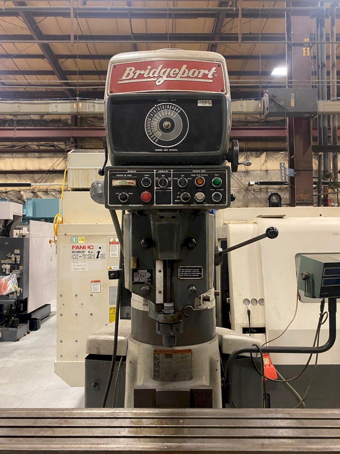 Bridgeport Series II Vertical Knee Mill