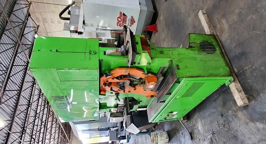 77 Ton Mubea Hydraulic Ironworker, New 1984