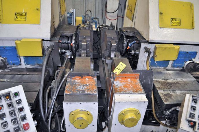 "36"" X 120"" Seneca Falls Model MC 150 Facing & Centering Machine"