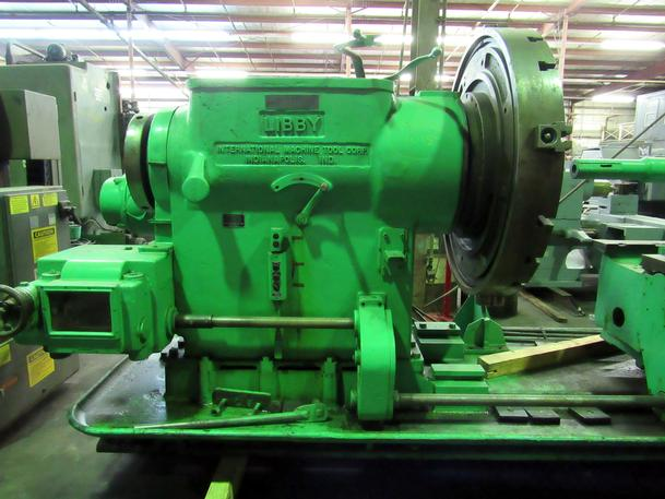 For Sale - No  5H Libby Sliding Gap Bed Turret Lathe, With