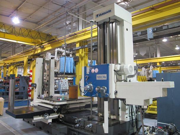 """5"""" KMT Model MB130e Horizontal Boring Mill, New"""