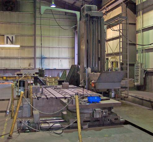 Cincinnati Gilbert Series J Floor Type Horizontal Boring Mill